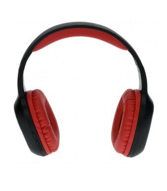 Bluetooth headphones Wave red-black 1