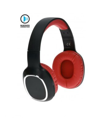 Bluetooth headphones Wave red-black